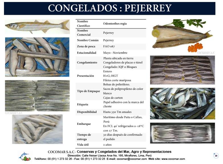 10. Cocomar (Peru) – Pejerrey congelado