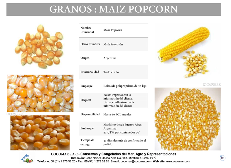 MAIZ POP CORN